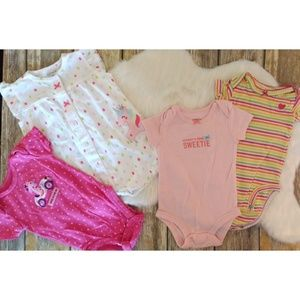Carter's Baby Girl, 3month 7 piece lot. #0922